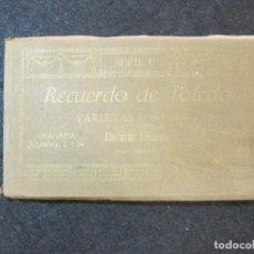 Postales: TOLEDO-BLOC CON 25 POSTALES ANTIGUAS-FOTO ABELARDO LINARES-VER FOTOS-(82.350). Lote 274253408
