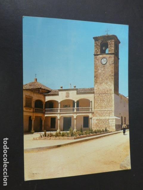 MOTA DEL CUERVO CUENCA AYUNTAMIENTO (Postales - España - Castilla La Mancha Antigua (hasta 1939))