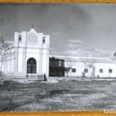 Postales: FOTOGRAFIA DE TOMELLOSO (CIUDAD REAL) SANTUARIO DE PINILLA, ESCRITA, TAMAÑO POSTAL. Lote 275197788