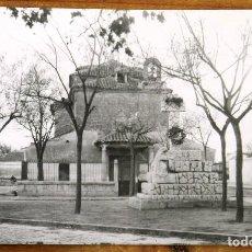 Postales: FOTO POSTAL DE VILLACAÑAS (TOLEDO) VISTA DE LA ERMITA DEL CRISTO DEL COLOQUIO, EXCLUSIVAS PARA PAPEL. Lote 275200223