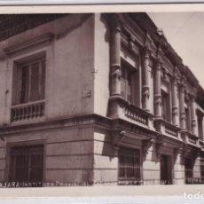Postales: GUADALAJARA INSTITUTO PROVINCIAL. FACHADA POR LA CALLE DE FERNANDO. FOTO CARAMILLO.. Lote 275275108