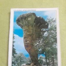Postales: CUENCA - LA CIUDAD ENCANTADO - TORNO ALTO - 2002. Lote 276147733