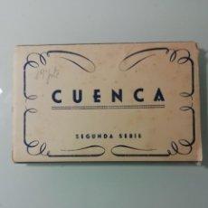 Postales: ALBUM DE 10 POSTALES FOTOGRAFICAS DE CUENCA DE 1959- SEGUNDA SERIE- HELIOTIPIA ARTISTICA ESPAÑOLA-. Lote 276198243