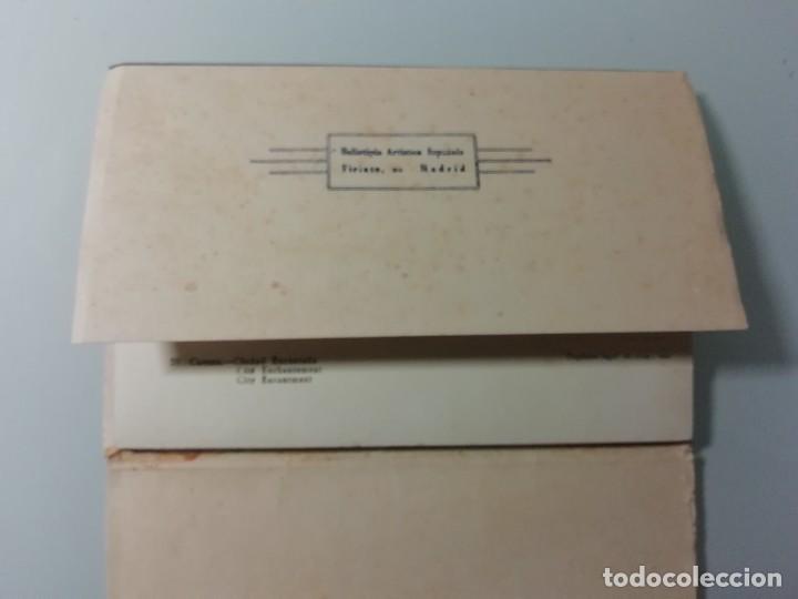 Postales: ALBUM DE 10 POSTALES FOTOGRAFICAS DE CUENCA DE 1959- SEGUNDA SERIE- HELIOTIPIA ARTISTICA ESPAÑOLA- - Foto 2 - 276198243