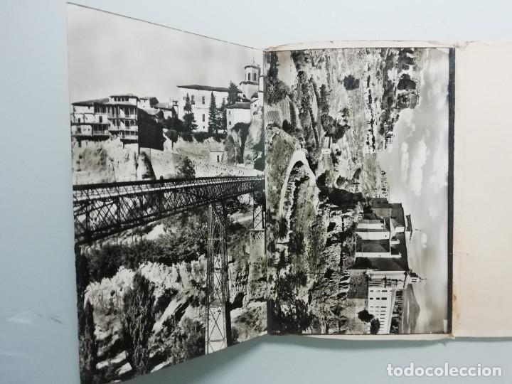 Postales: ALBUM DE 10 POSTALES FOTOGRAFICAS DE CUENCA DE 1959- SEGUNDA SERIE- HELIOTIPIA ARTISTICA ESPAÑOLA- - Foto 3 - 276198243