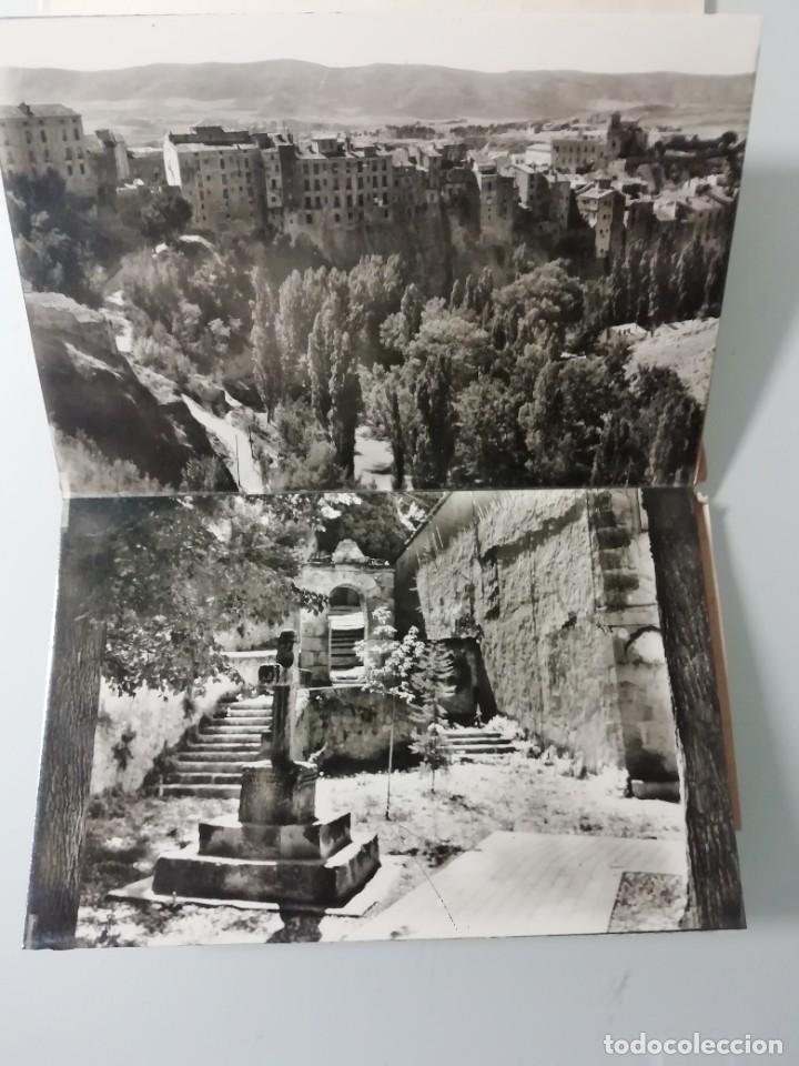 Postales: ALBUM DE 10 POSTALES FOTOGRAFICAS DE CUENCA DE 1959- SEGUNDA SERIE- HELIOTIPIA ARTISTICA ESPAÑOLA- - Foto 4 - 276198243