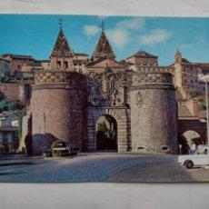 Postales: POSTAL TOLEDO - PUERTA BISAGRA - JULIO. DE LA CRUZ 1.602. Lote 277031433