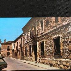 Postales: TARANCON (CUENCA). CALLE Y CASA DE PARADAS . VISTABELLA 2. Lote 277520018