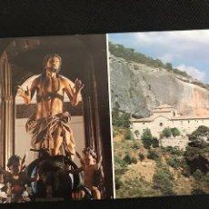Postales: PRIEGO (CUENCA) MONASTERIO SAN MIGUEL DE LAS VICTORIAS Y CRISTO DE LA CARIDAD ED ANTONA CU-227-1990. Lote 277520913