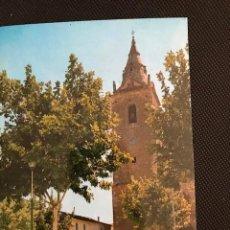 Postales: QUINTANAR DEL REY(CUENCA). PLAZA DEL CAUDILLO E IGLESIA PARROQUIAL. FITER 2096. Lote 277521693