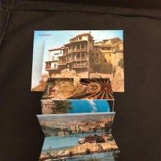 Postales: CUENCA. ED. PARIS. CASAS COLGADAS Y HOZ. ACORDEON DE FOTOGRAFIAS EN INTERIOR. Lote 277523103