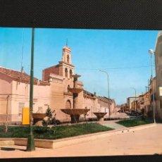 Postales: QUINTANAR DEL REY(CUENCA). PLAZA DE LA CONCEPCION. FITER 2098. Lote 277523738
