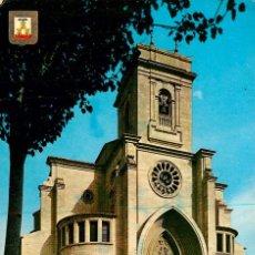 Postales: EM1262 ALBACETE CATEDRAL 1967 ESCUDO DE ORO Nº4. Lote 277555828