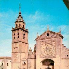 Postales: EM1263 TALAVERA DE LA REINA IGLESIA DE SANTA MARIA LA MAYOR 1965 ARRIBAS Nº2007 COCHE. Lote 277555888