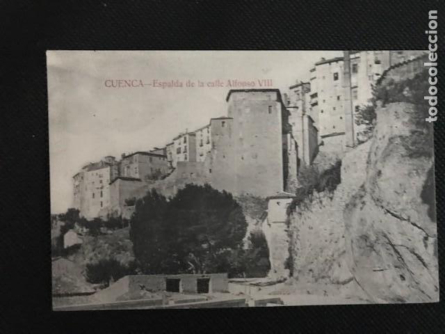 CUENCA. ESPALDA DE LA CALLE ALFONSO VIII. ED. F. CUESTA (Postales - España - Castilla La Mancha Antigua (hasta 1939))