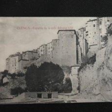 Postales: CUENCA. ESPALDA DE LA CALLE ALFONSO VIII. ED. F. CUESTA. Lote 277622863