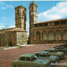 Postales: ALCARAZ - 2005 IGLESIA Y TORRE DE TRINIDAD, TORRE DEL TARDÓN Y LONJA DE SANTO DOMINGO. Lote 277682803