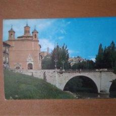 Postales: CUENCA - PUENTE DE SAN ANTÓN Y VIRGEN DE LA LUZ (ESCRITA). Lote 279526968