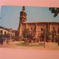 Postales: POSTAL DE VALDEPEÑAS, PLAZA DE ESPAÑA. ED. LIBRERIA LA GALANA. 1963.. Lote 280113668