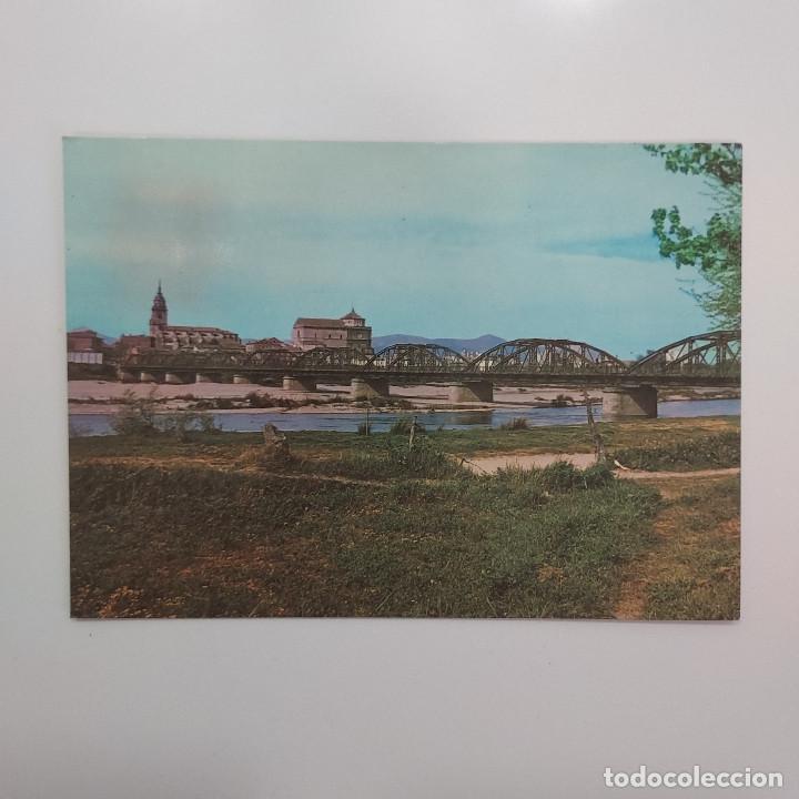 POSTAL TALAVERA DE LA REINA. PUENTE NUEVO SOBRE EL TAJO (TOLEDO) ESCRITA 1966 (Postales - España - Castilla la Mancha Moderna (desde 1940))