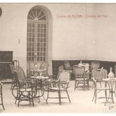 Postales: MORA (TOLEDO) CASINO. DETALLE DEL HALL.. Lote 284626443