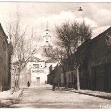 Postais: VILLACAÑAS (TOLEDO) VISTA DE LA CALLE DE EL CRISTO.. Lote 284645608