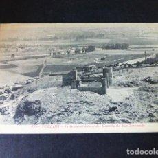 Postales: TOLEDO VISTA PANORAMICA DEL CASTILLO DE SAN SERVANDO. Lote 285066958