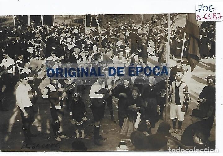 (PS-66187)POSTAL FOTOGRAFICA DE ALBACETE-FIESTAS POPULARES.FOTO LUIS ESCOBAR (Postales - España - Castilla La Mancha Antigua (hasta 1939))