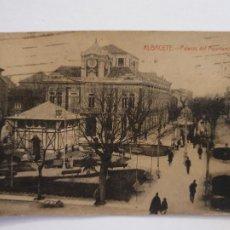 Postais: ALBACETE - PALACIO DEL AYUNTAMIENTO - CIRCULADA EN 1925 - P51406. Lote 286189018