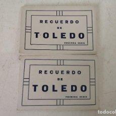 Postais: RECUERDO DE TOLEDO, PRIMERA Y SEGUNDA SERIE, ANTIGUAS POSTALES EN B/N, EDICIÓN F. M, MADRID. Lote 287139048