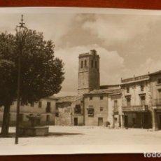 Postales: ANTIGUA FOTOGRAFIA DE TORIJA (GUADALAJARA), MIDE 18 X 12 CMS. EXCEPCIONAL. Lote 287212773