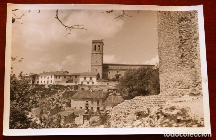 ANTIGUA FOTOGRAFIA DE TORIJA (GUADALAJARA), MIDE 18 X 12 CMS. EXCEPCIONAL (Postales - España - Castilla La Mancha Antigua (hasta 1939))