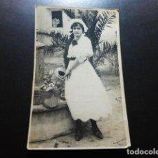 Postales: ALMANSA ALBACETE VICENTE ALANDÍ FOTOGRAFO POSTAL FOTOGRAFICA RETRATO CHICA 1917. Lote 287217258