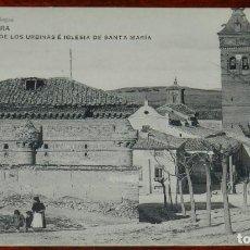 Postales: GUADALAJARA, CAPILLA DE LOS URBINAS E IGLESIA DE SANTA MARIA, EDICION FLORES Y ABEJAS, HAUSER Y MENE. Lote 287415628