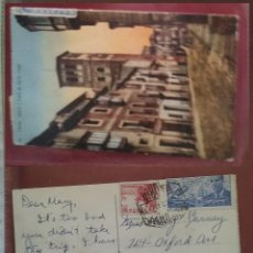 Postales: POSTAL TOLEDO IGLESIA Y CALLE DE SANTA TOMÉ CORREO AÉREO EL CID 10 CTS. Lote 287749088