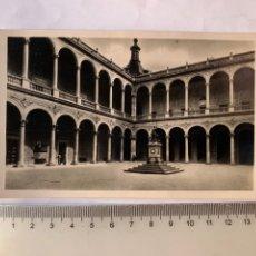 Postales: POSTAL. ALCAZAR DE TOLEDO. PATIO ANTES DEL ASEDIO.. Lote 288024858