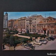 Postales: LOTE AB ALBACETE POSTAL ALBACETE PLAZA DEL CAUDILLO GARRABELLA. Lote 288454128