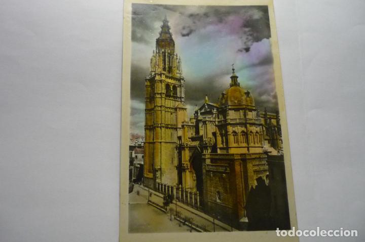 POSTAL TOLEDO -CATEDRAL -COLOREADA CM (Postales - España - Castilla la Mancha Moderna (desde 1940))