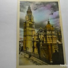 Postales: POSTAL TOLEDO -CATEDRAL -COLOREADA CM. Lote 288570853