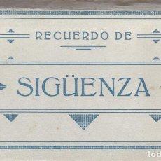 Postales: GUADALAJARA, SIGUENZA. BLOC POSTAL COMPLETO CON 10 POSTALES. ED. ARRIBAS. Lote 289734468