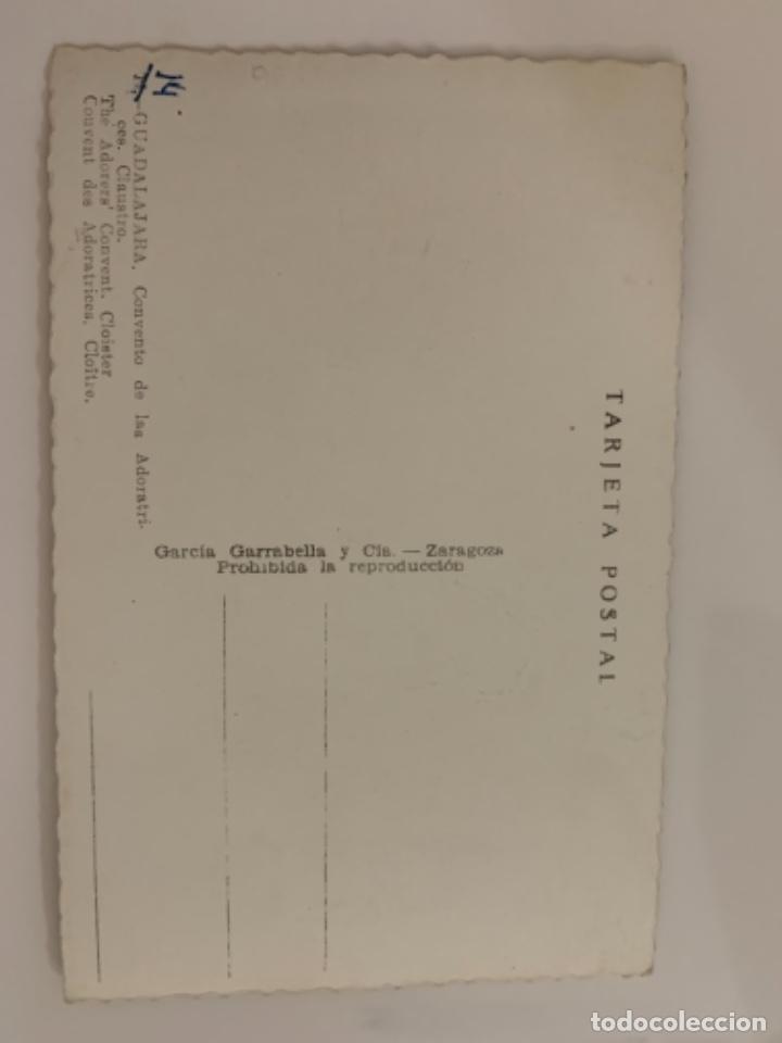 Postales: Guadalajara - Covento de las Adoratrices. Claustro - N° 14 Ed. García Garrabella - Foto 2 - 290097483