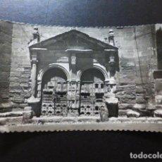 Postales: SIGÜENZA GUADALAJARA PORTADA DE LA ERMITA DEL HUMILLADERO. Lote 290955383