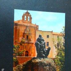Postales: CUENCA ESCULTURA DEDICADA AL PASTOR. Lote 291148183