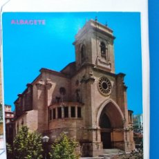 Postales: 2 POSTALES DE ALBACETE. Lote 291332663