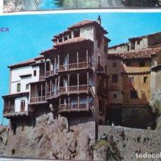 Postales: 7 POSTALES DE CUENCA (5 DE LA CIUDAD , 1 DE SAN CLEMENTE Y OTRA DEL RIO CUERVO). Lote 291333153