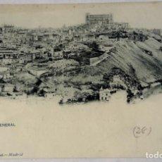 Postales: TOLEDO VISTA GENERAL HAUSER Y MENET. Lote 292263538