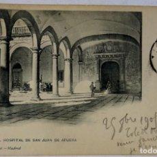 Postales: TOLEDO PATIO DEL HOSPITAL DE SAN JUÁN DE AFUERA. HAUSER Y MENET. Lote 292263733