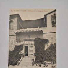 Postales: TOLEDO ENTRADA DE LA CASA DEL GRECO CIRCULADA LOS INGREDIENTES. Lote 292375938