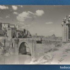 Postales: POSTAL CIRCULADA TOLEDO 1013 PUENTE DE ALCANTARA EDITA DOMINGUEZ. Lote 292508683