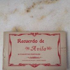 Postales: RECUERDO DE ÁVILA 20 TARJETAS POSTALES FOTOTIPIA DE HAUSER Y MENET ENVÍO CERTIFICADO 4,99. Lote 292595543